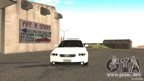Audi A3 1.8T 180cv para GTA San Andreas left