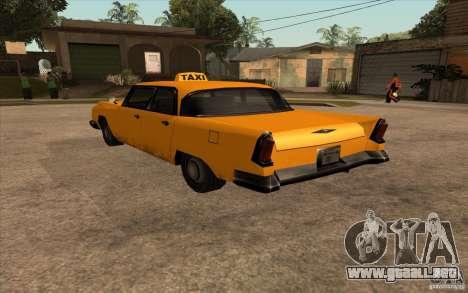 Oceanic Cab para GTA San Andreas left