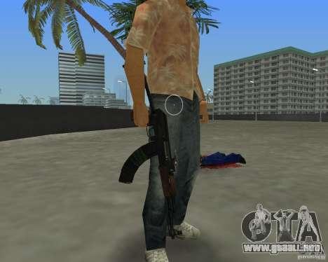 AK-74 para GTA Vice City tercera pantalla