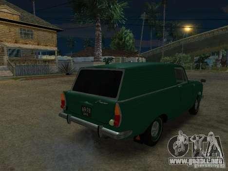 AZLK 434 para GTA San Andreas left