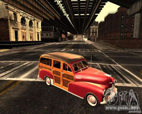 Chevrolet Fleetmaster 1948 para GTA San Andreas left