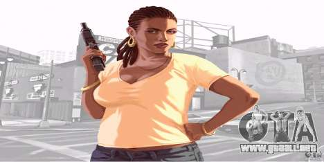 Pantallas de inicio de GTA IV v. 2.0 para GTA San Andreas segunda pantalla