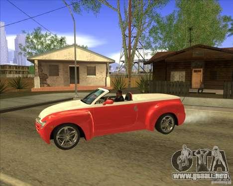 Chevrolet SSR para GTA San Andreas left