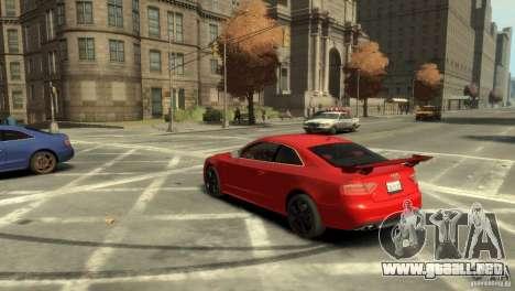 Audi S5 para GTA 4 left
