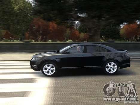 Ford Taurus FBI 2012 para GTA 4 left