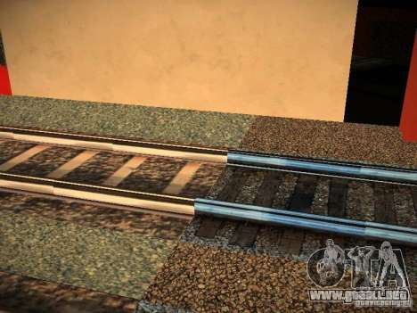 Nuevos carriles para GTA San Andreas tercera pantalla