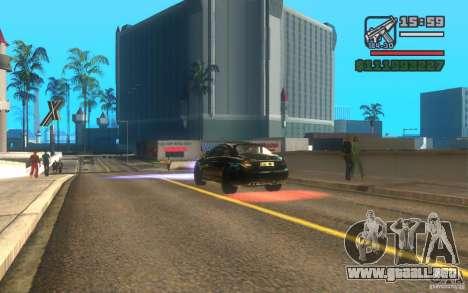 ENBSeries by Gasilovo v2 para GTA San Andreas sucesivamente de pantalla