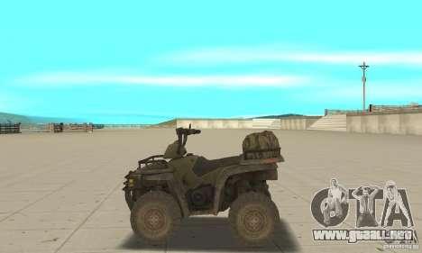 Nuevo Atv para GTA San Andreas left