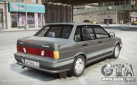 VAZ 2115 v1.0 para GTA 4 Vista posterior izquierda