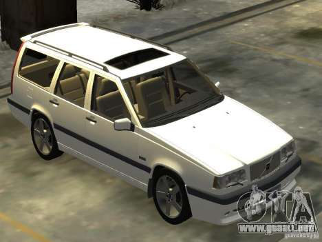 Volvo 850 R 1996 Rims 2 para GTA 4 visión correcta