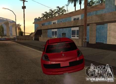 Renault Megane Sport Custom para GTA San Andreas vista posterior izquierda