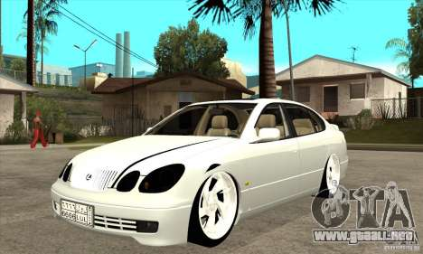 Lexus GS300 V 2003 para GTA San Andreas left
