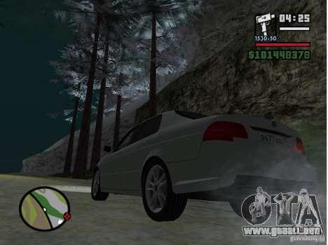 Winter Mod para GTA San Andreas segunda pantalla