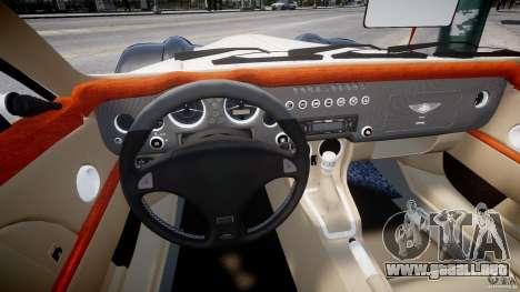Morgan Aero SS v1.0 para GTA 4 vista hacia atrás