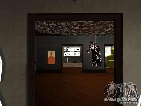 GTA Museum para GTA San Andreas sucesivamente de pantalla