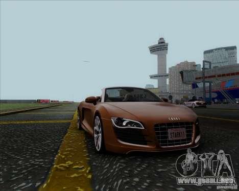 Audi R8 Spyder para GTA San Andreas