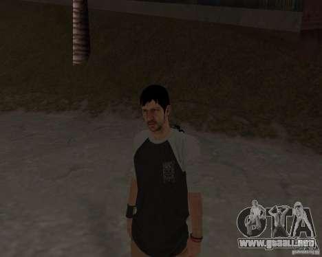 Tony Hawks Cole para GTA San Andreas sucesivamente de pantalla
