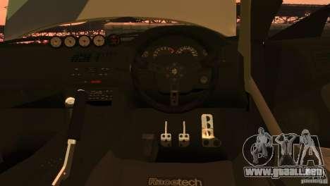 Nissan Silvia S14 Zenki Team Need for Speed para GTA 4 visión correcta