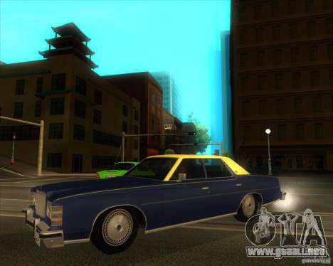 Ford LTD Brougham 4 door 1975 para GTA San Andreas