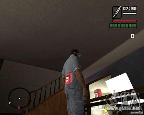 From Left 4 Dead beta v0.2 para GTA San Andreas sucesivamente de pantalla