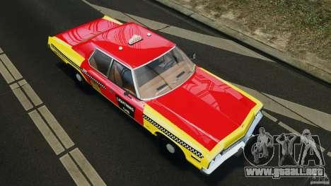 Dodge Monaco 1974 Taxi v1.0 para GTA 4 interior