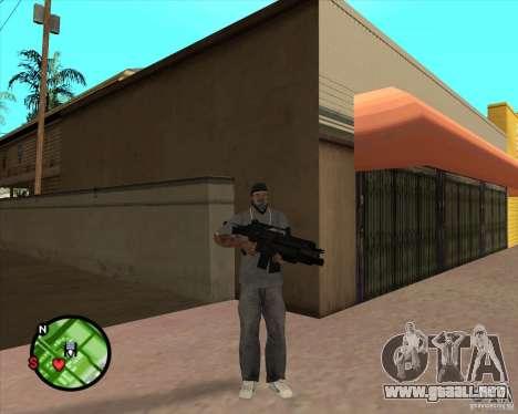 El Rifle de Ross para GTA San Andreas segunda pantalla