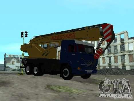 KAMAZ 65117 Ivanovets para la visión correcta GTA San Andreas