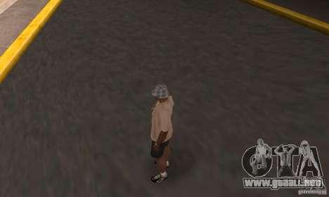 Adio hamilton para GTA San Andreas segunda pantalla