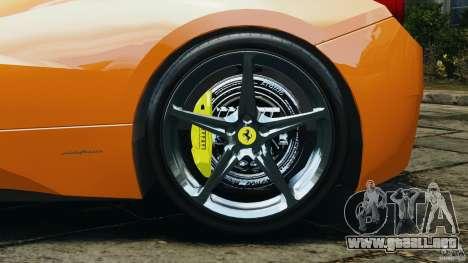 Ferrari 458 Italia 2010 v3.0 para GTA 4 vista interior