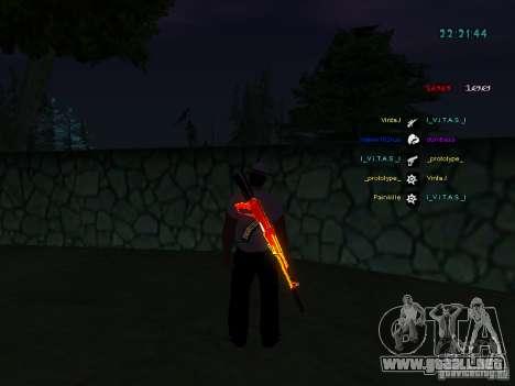 Nuevos skins La Coza Nostry para GTA: SA para GTA San Andreas sucesivamente de pantalla