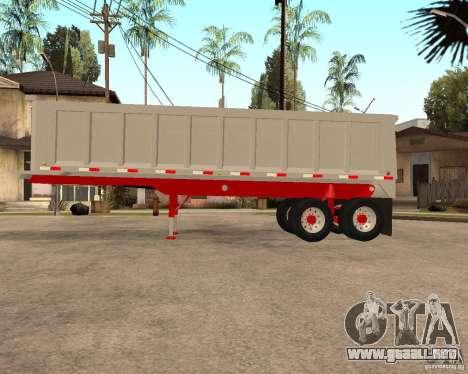 Remolque basculante Artict3 para GTA San Andreas left