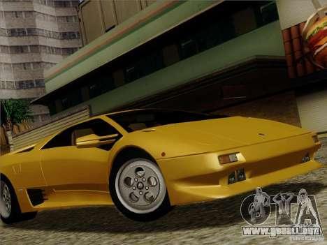 Lamborghini Diablo VT 1995 V3.0 para la vista superior GTA San Andreas