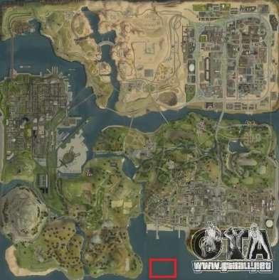 Tokyo Drift map para GTA San Andreas sexta pantalla