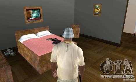 Nuevas casas de seguridad interiores para GTA San Andreas sexta pantalla