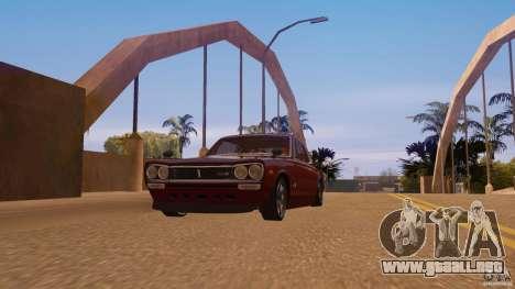 Nissan Skyline GT-R 2000 para GTA San Andreas