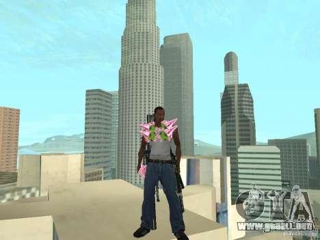 Weapons Pack para GTA San Andreas segunda pantalla