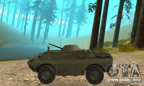 BRDM-2 Standard Edition para GTA San Andreas vista posterior izquierda