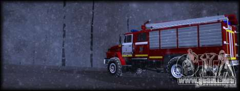 Ural 43206 AC 3.0-40 para GTA San Andreas left