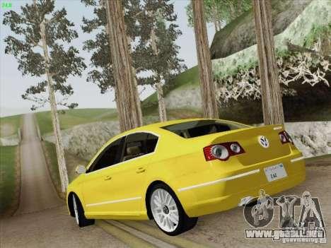 Volkswagen Magotan 2011 para vista inferior GTA San Andreas