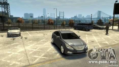 Hyundai Sonata para GTA 4 visión correcta