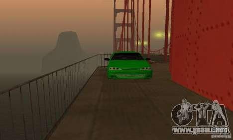 VAZ 2113 ADT arte Tuning para visión interna GTA San Andreas