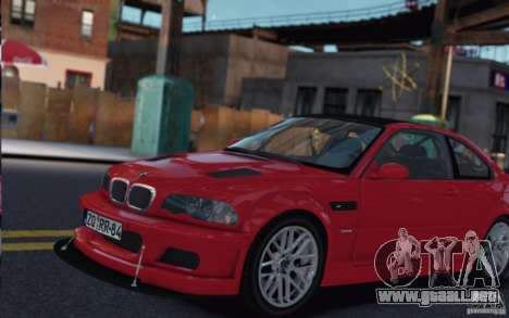BMW M3 Street Version e46 para GTA 4 left