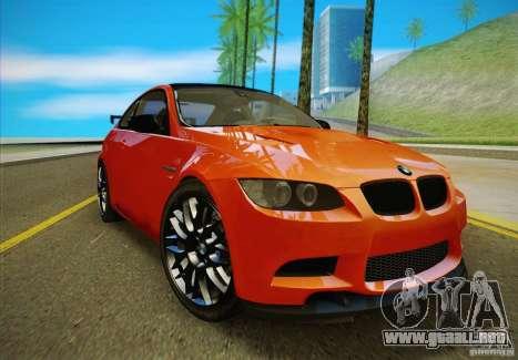 BMW M3 GT-S Final para la visión correcta GTA San Andreas