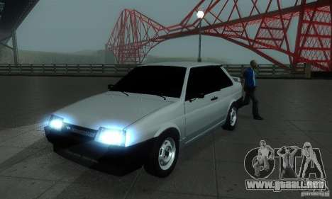 VAZ 21099 Coupe para GTA San Andreas