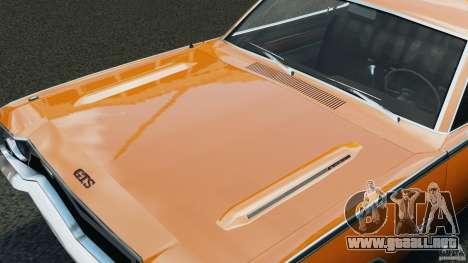 Dodge Dart GTS 1969 para GTA 4 vista lateral
