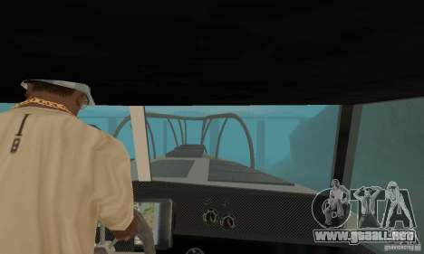 Reefer GTA IV para GTA San Andreas vista hacia atrás