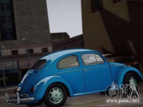 Volkswagen Beetle 1967 V.1 para visión interna GTA San Andreas