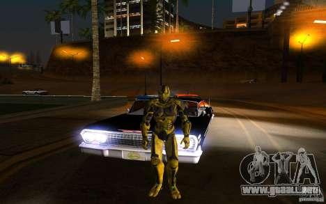 Cyrax 2 de Mortal kombat 9 para GTA San Andreas