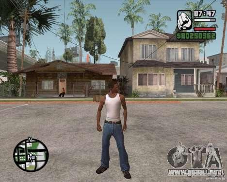 GTA 4 Anims for SAMP v2.0 para GTA San Andreas segunda pantalla