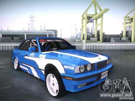 BMW E34 Drift para la visión correcta GTA San Andreas
